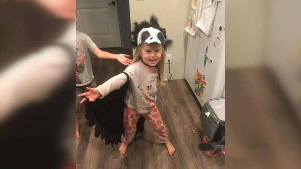 3 Year Old Amputee Highlights Her Missing Arm With Unique Halloween Costumes