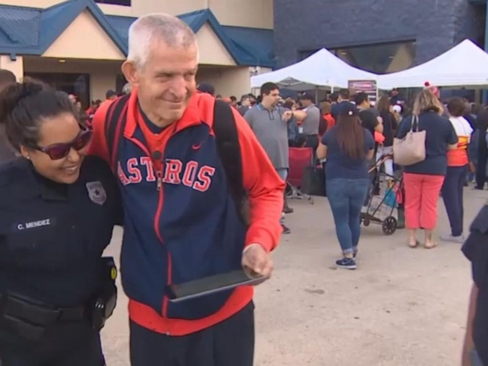 VIDEO: Businessman James McIngvale, aka Mattress Mack, chartered a flight to take Astros fans to game six of the World Series.