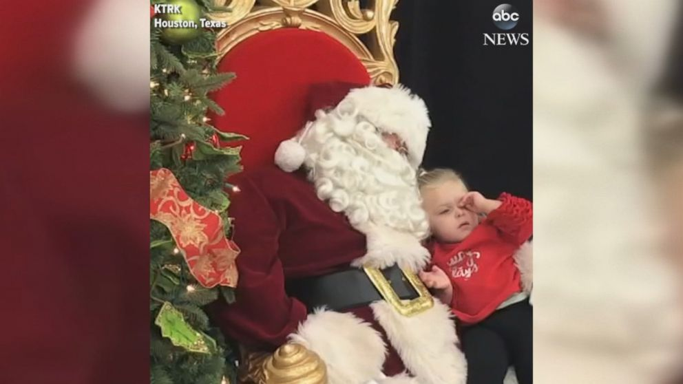 A Wish For Christmas.Weary Toddler Asks Santa For One Thing She Wants Most For