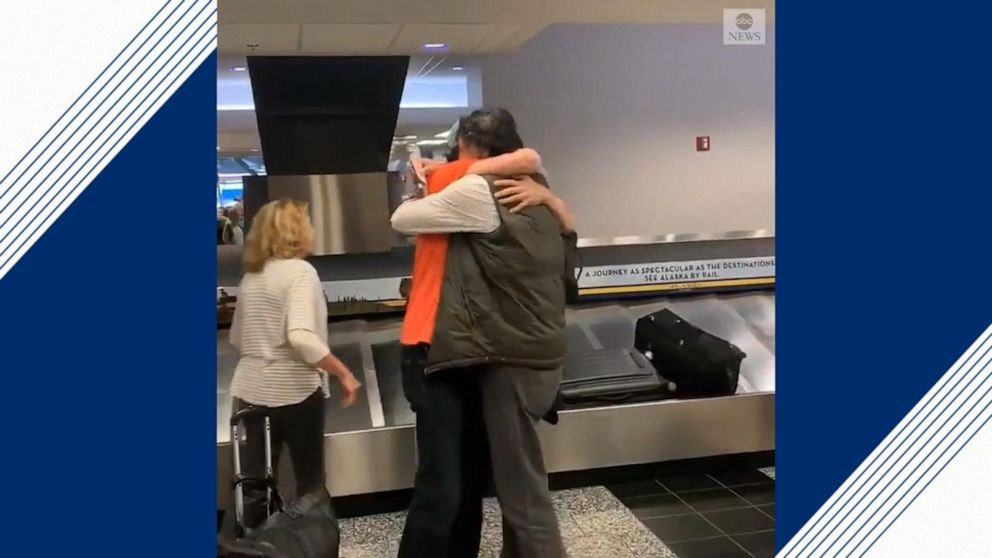Brothers reunite for first time in more than 20 years in heartfelt video