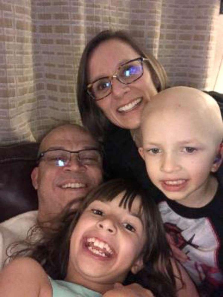 Seen in this undated family photo, Manuel, Kirsten, Lio Ortega, 4 and Ariadne Ortega, 8.