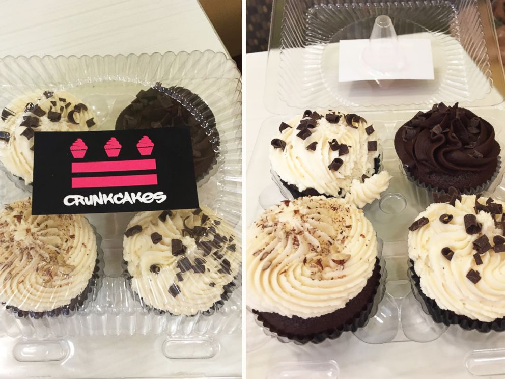 PHOTO: Each of Crunkcakes cupcakes have a shot of booze in them.
