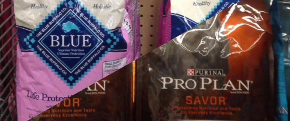 PHOTO: Blue Buffalo and Nestle Purina, two pet food companies, are locked in a lawsuit.