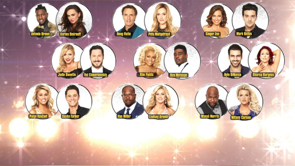 'Dancing With the Stars' Switch Up Pairings Revealed - ABC