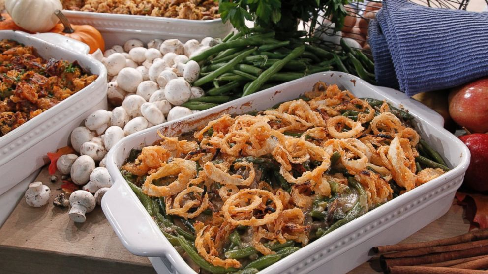 Emeril Lagasse's Emerilized (From Scratch) Green Bean Casserole