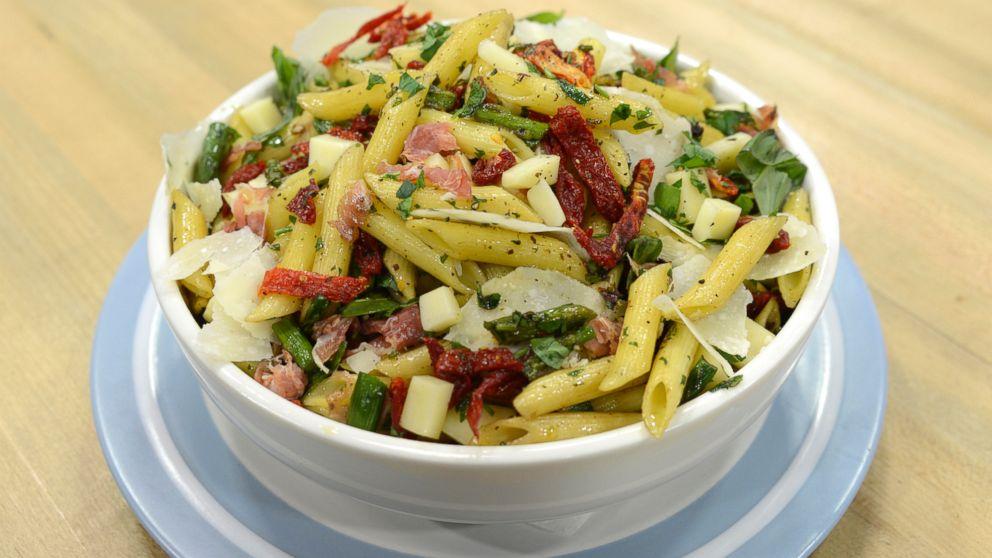 Roasted Asparagus And Penne Pasta Salad Recipe Emeril Lage Abc News