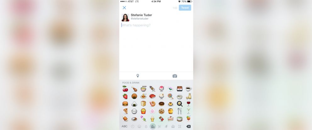 PHOTO: Fooji lets you order your meal with just the Tweet of an emoji.