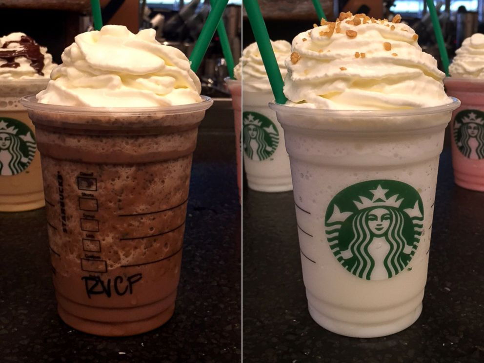 PHOTO Starbucks New Limited Edition Red Velvet And Lemon Bar Frappuccinos