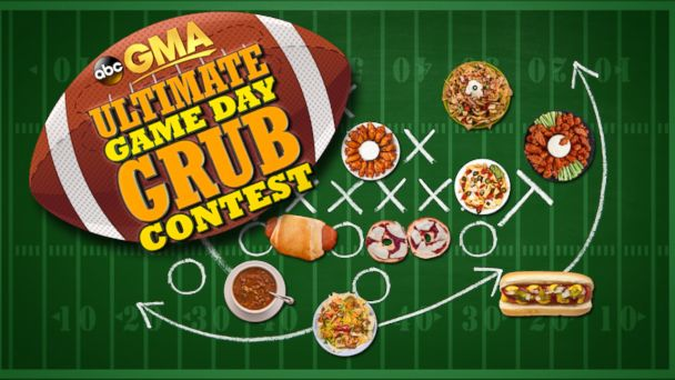 """PHOTO: Does your favorite Game Day recipe score major points with your friends and family? Then enter Good Morning Americas """"Ultimate Game Day Grub Contest""""!"""