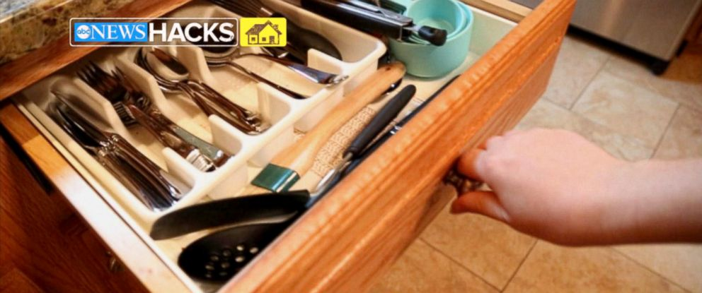 PHOTO: Get organized with these kitchen hacks.