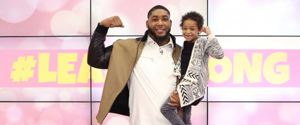 "PHOTO: Leah Still, 5-year-old daughter of Houston Texans defensive tackle Devon Still, has officially ""beaten cancer."""