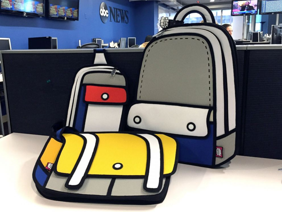 PHOTO: JumpFromPaper bags are so cartoonish, they almost look fake.
