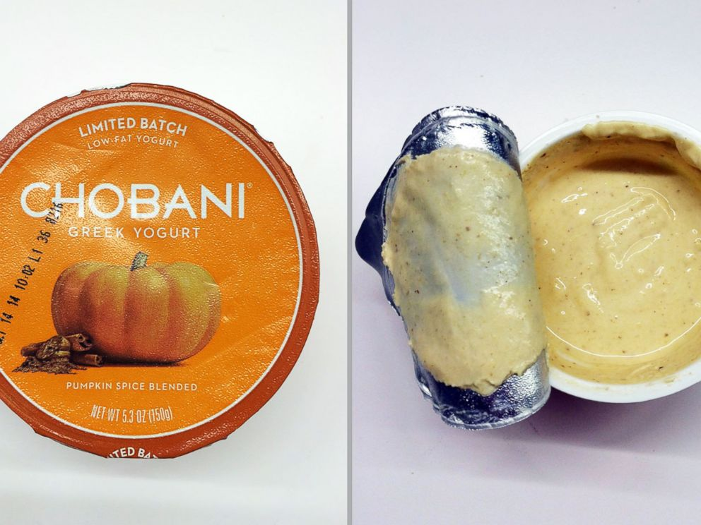 PHOTO: Chobani Pumpkin Spice Yogurt