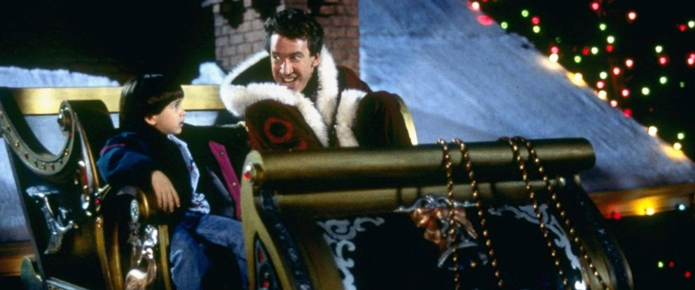 "PHOTO: Eric Lloyd, left, and Tim Allen in a scene from ""The Santa Clause."""