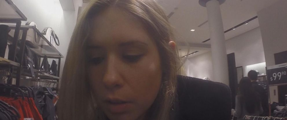 """Nightline"" attached a GoPro camera to Alex Roberts as she hit up her favorite stores."