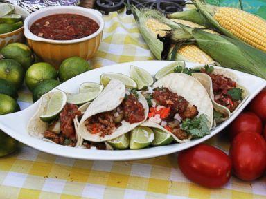 chorizo and potato tacos recipe rachael ray recipe abc news