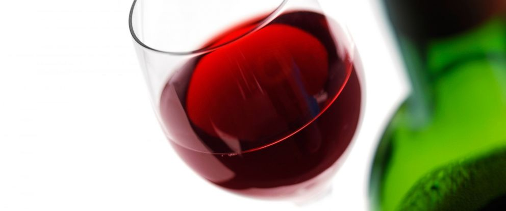 PHOTO: A glass of red wine.