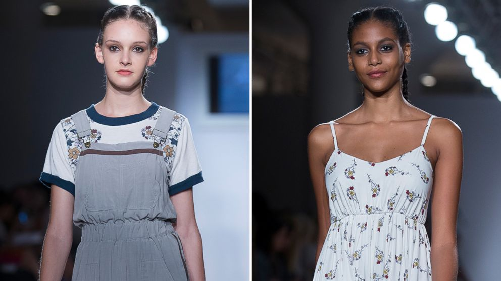 13 Year Old Makes New York Fashion Week Debut Abc News