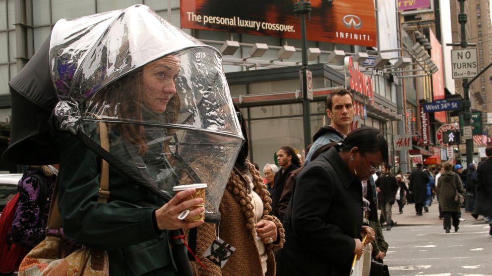 Good Morning America Umbrella : April showers bring awesome umbrellas abc news