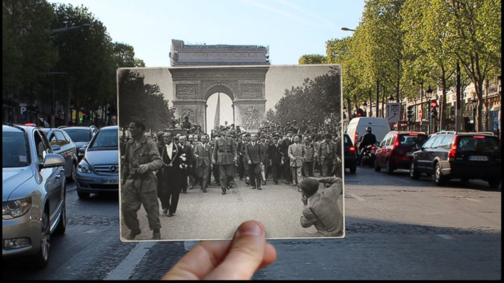 Haunting World War Ii Photos Of Paris, Then And Now - Abc News History <b>History.</b> Haunting World War II Photos of Paris, Then and Now - ABC News.</p>