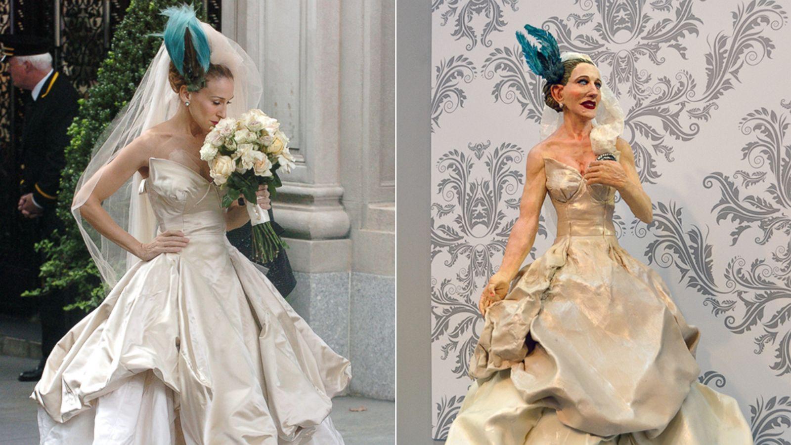 Sarah jessica parker sex and the city wedding dress