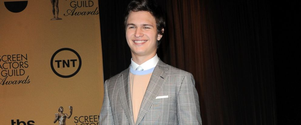 PHOTO: Actor Ansel Elgort is seen in this Dec. 10, 2014 file photo in Los Angeles.