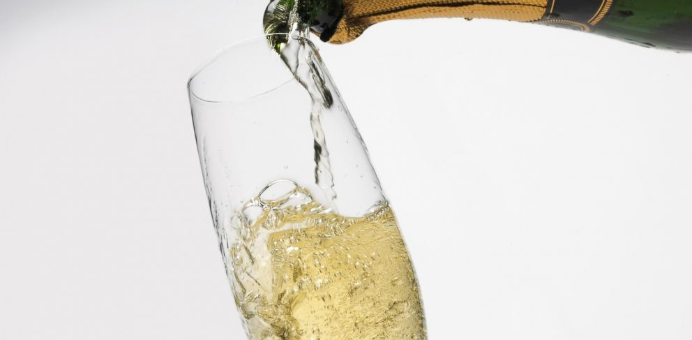 PHOTO: There may be some science behind that killer champagne hangover.