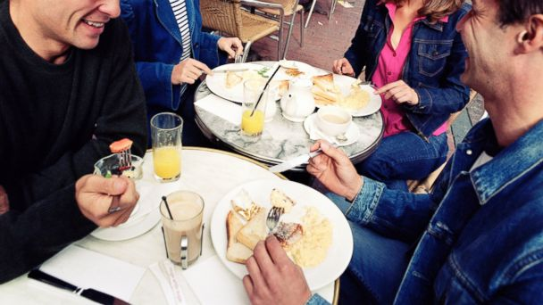 PHOTO: A group of friends out to brunch.