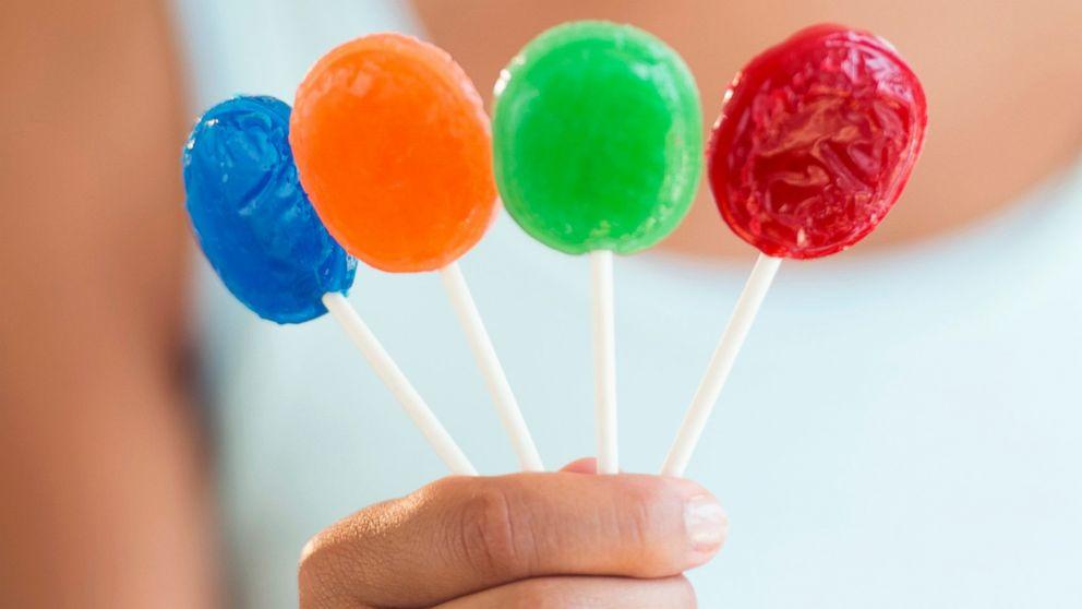 Center of the world lollipop scene