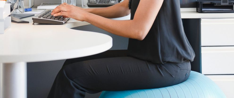 PHOTO: 6 ways to work out at your desk now.