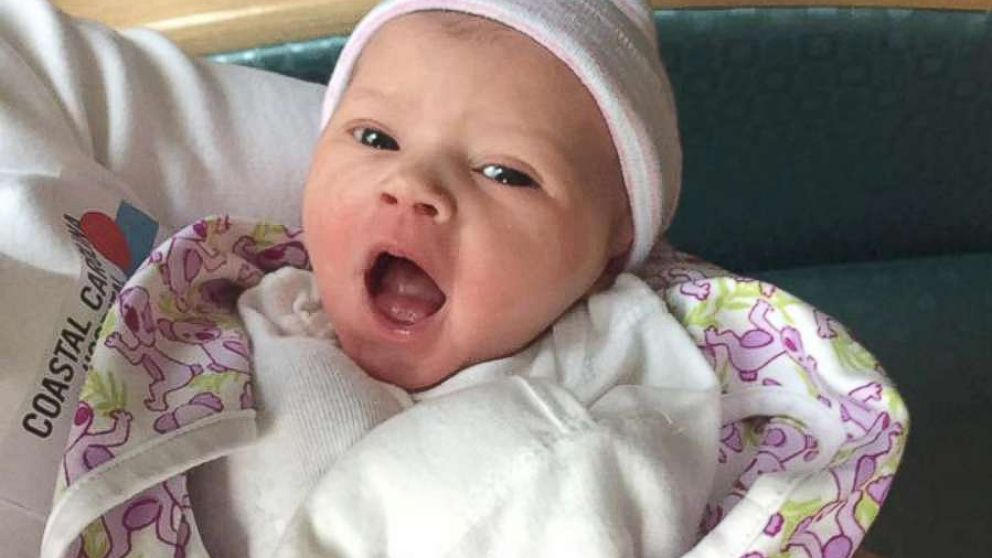 Carter Louise Settle is the first girl born to the family in 137 years.
