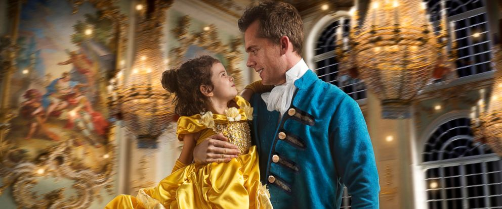 """PHOTO: Commercial photographer Josh Rossi gave his daughter, Nellee, a magical """"Beauty and the Beast"""" photo shoot shed cherish forever."""