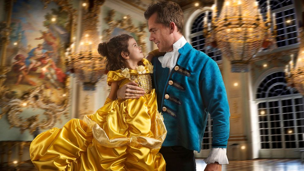 """Commercial photographer Josh Rossi gave his daughter, Nellee,  a magical """"Beauty and the Beast"""" photo shoot she'd cherish forever."""
