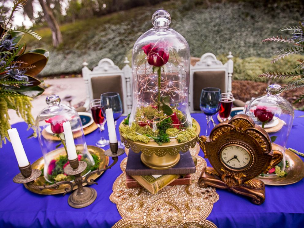 PHOTO: This Beauty and the Beast-themed wedding shoot will have fans falling in love with the classic tale all over again.