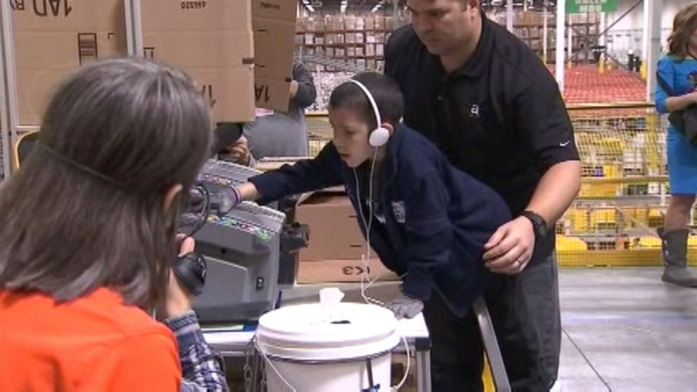 8 Year Old Battling Cancer Gets Birthday Wish To See Amazon Shipping Facility