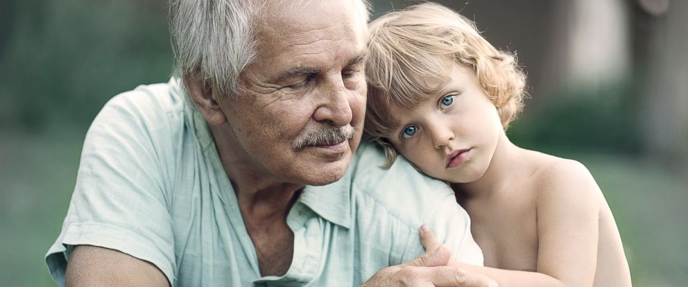 PHOTO: Photographer Ivette Ivens captures the bond between grandparents and grandchildren in her new series Generations.