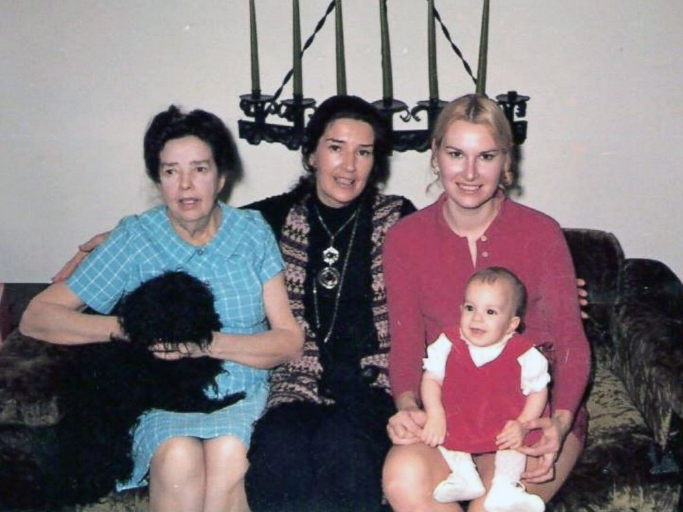 PHOTO: An undated photo of Jean Oddis mother, Virginia York (far left), Jean Oddi, Oddis daughter, Casey Clark and Oddis granddaughter Melissa Falter (far right).