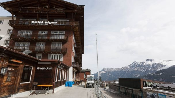 PHOTO: These high-altitude hotels each sit perched in the mountains more than a mile above sea level. This is the Hotel Eiger.
