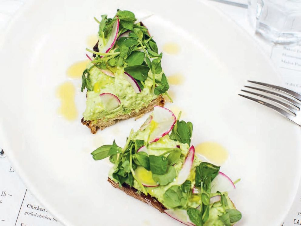 PHOTO: Pea and ricotta toast from Jacks Wife Freda in New York City.