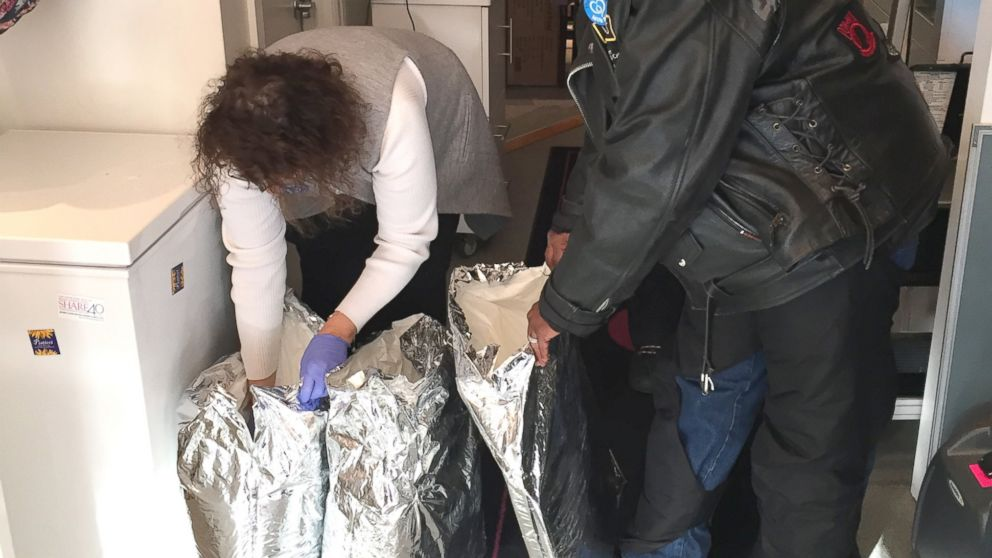 Siren's Women's Motorcycle Club of New York City, is helping New York Milk Bank provide breast milk to women and hospitals in need.