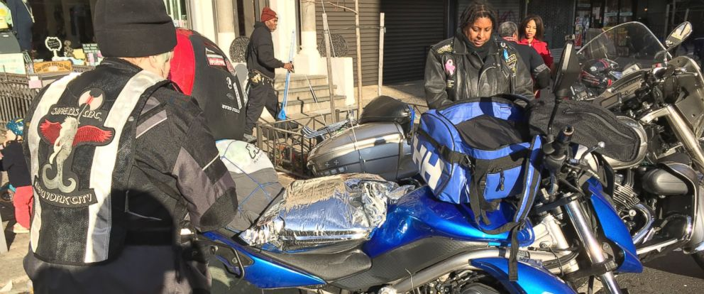 PHOTO: Sirens Womens Motorcycle Club of New York City, is helping New York Milk Bank provide breast milk to women and hospitals in need.
