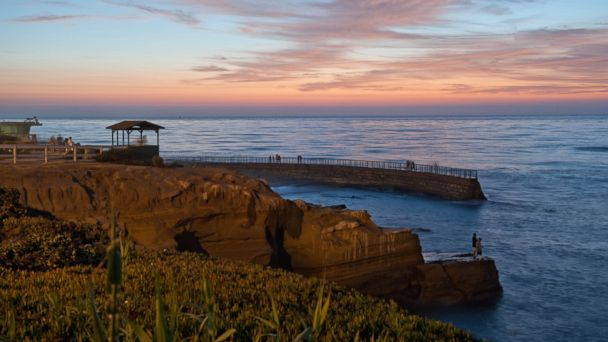 PHOTO: These cities are some of the best stops to make when driving down Californias famous Pacific Coast Highway. Shown here is San Diego.