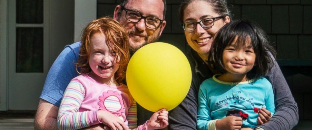 PHOTO: Hattie Pierce (right) and her dad Brian were both born with a cleft lip and palate and had them repaired at Children's Healthcare of Atlanta.