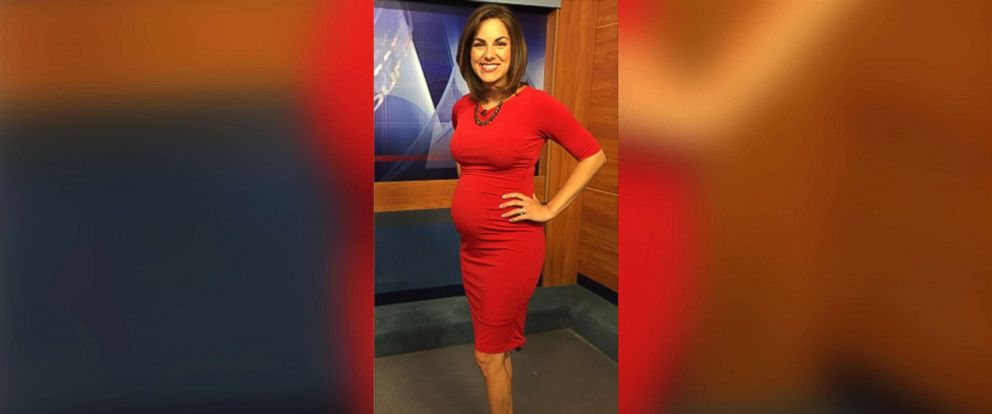 PHOTO: Laura Warren, a pregnant news anchor from Augusta, Georgia, struck back after being body shamed by a viewer.