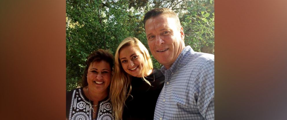 PHOTO: Regina Runge, her daughter, Taylor, and husband, Mark, were reunited with a VHS tape full of family memories found at a Goodwill in Jacksonville, Fla.