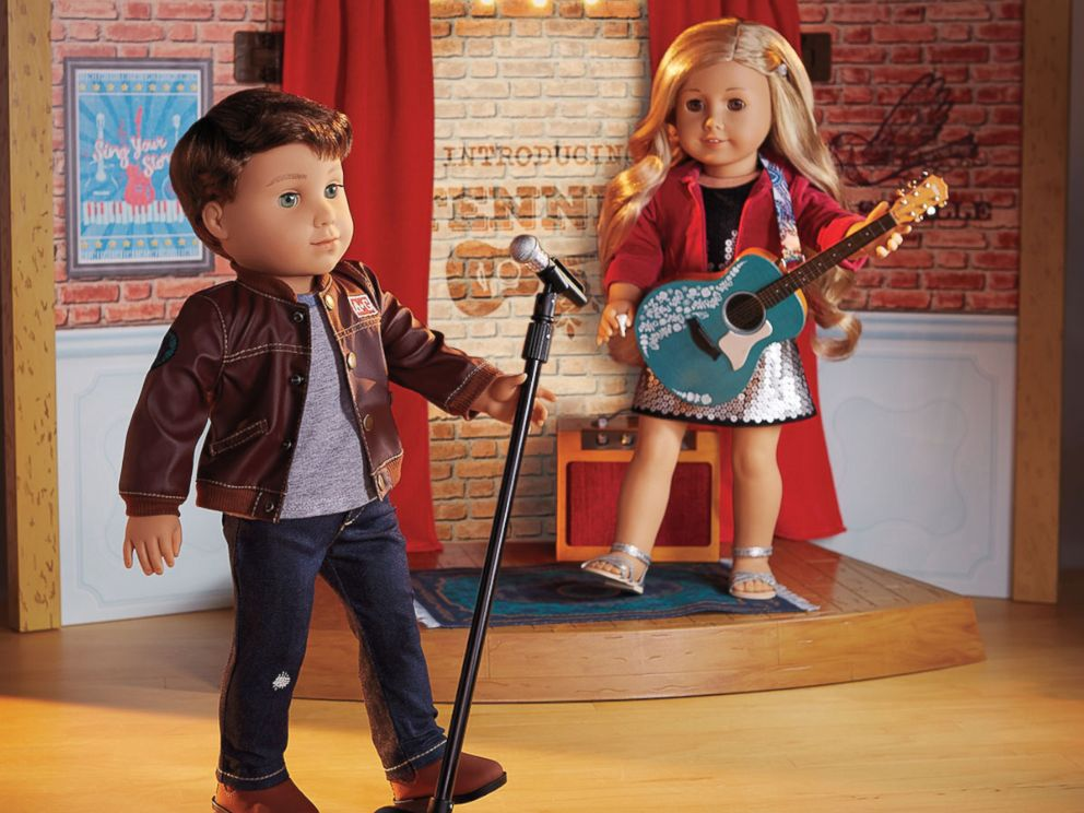 PHOTO: New American Girl characters Tenney Grant and Logan Everett.