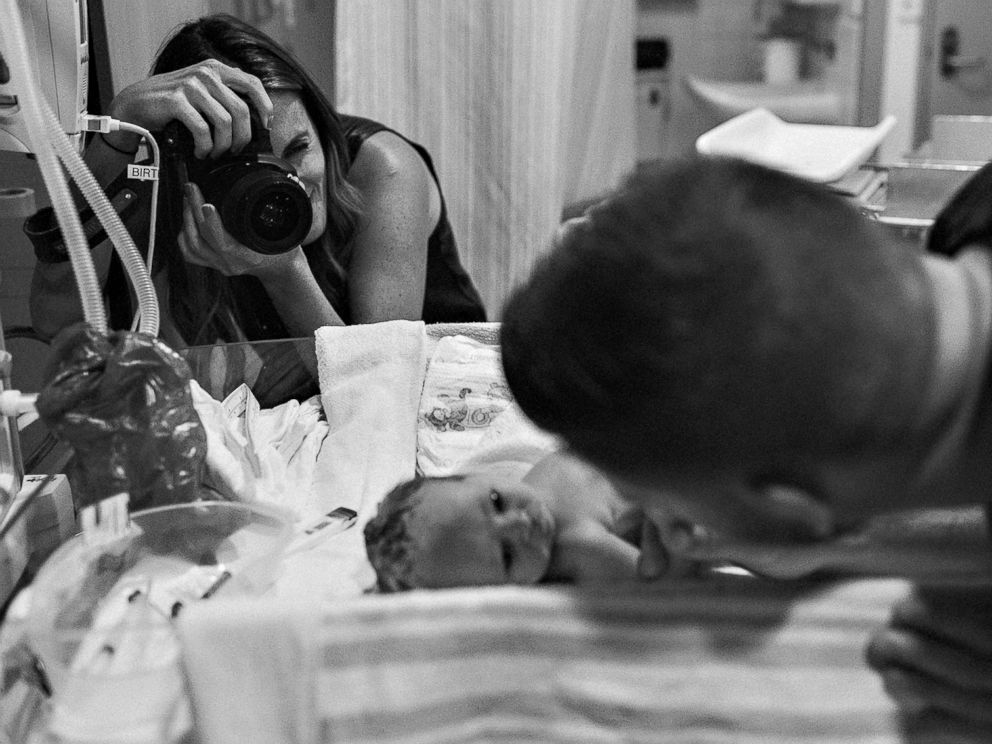 PHOTO: The First Hello Project captures the intimate and emotional first moments between newborn babies and their parents.
