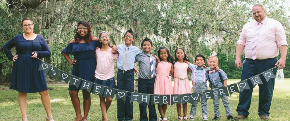 7 siblings adopted together after years in foster care abc news