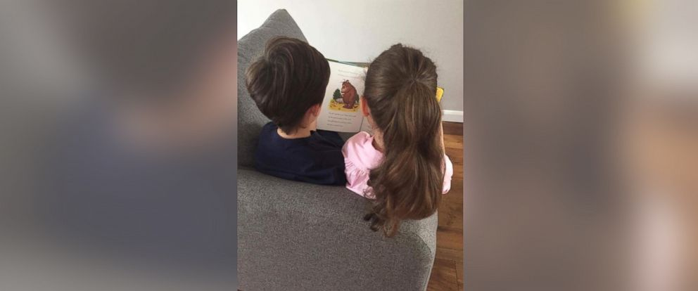 PHOTO: Sophie Camilleris daughter Lex, 6, stood up for her brother Frank, 9, who has autism, after a student at her school called him weird.