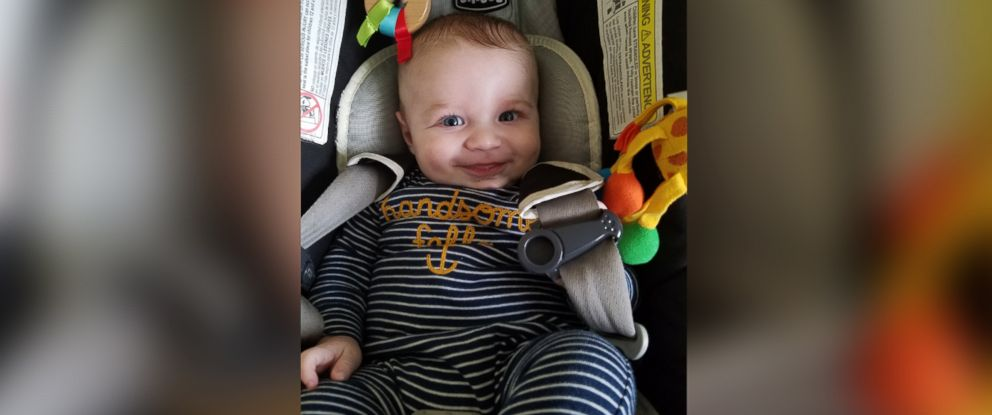 PHOTO: George Eliopulos, 5 months old, was diagnosed with acute respiratory distress syndrome (ARDS), which nearly took his life.